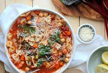 vegan: soups and stews / Vegan soups with fresh, whole foods
