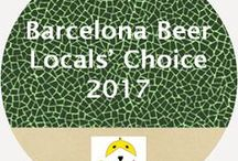 19 Beers to Drink in Barcelona (2017) / Barcelona Beer: Locals' Choice 2016  http://eng.birraire.com/2017/01/barcelona-beer-locals-choice-2017.html  A list of local beers that one can find in Barcelona, as recommended by trusted local drinkers.