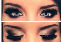 hair&makeup. / by Danielle Banzon