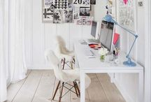 CRAFT ROOM // HOME OFFICE / Beautiful Inspirations for your CRAFT ROOM