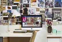 Desk / Studio / by Ceil Diskin Studio