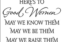"""Being a Woman: The Joys & """"Oh Boy""""s! / The ups and downs and all arounds of being female."""