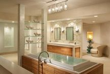 BATHROOMS / A great room to escape to and relax in