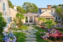 Gardens / Porches / Backyards / Ponds / Patio / by Sarah