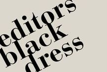 Editors' Black Dress  / A celebration of one of fashion's most timeless garments, the little black dress.  / by BHS UK