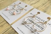 wanderlust life - earrings / Understated, minimal and chic jewellery from Wanderlust Life.  Handmade in the UK, inspired by the world.    www.wanderlustlife.co.uk