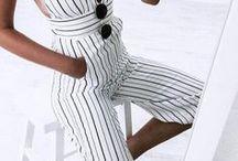 Frühling & Sommer Mode / Sommer Kleidung, Kleider, Summer Style, Sommer Inspiration, Röcke, Streetstyle, Tragbare Mode
