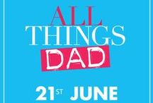 All Things Dad: Father's Day Gifts / Whatever your dad is into, you'll find the perfect present here. From stylish polo shirts to adrenaline fueled gift experiences - there's something for every dad this Father's Day at BHS. / by BHS UK