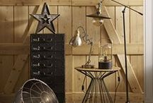 Industrial Lighting / Illuminate is our fabulous and functional range of industrial lighting. Inspired by antique workshop lights, the new collection combines brushed metals, heavy-duty cords and exposed filament bulbs to create an authentic urban look.  / by BHS UK