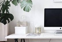 Arbeitsplatz & Büro Einrichtungsideen / Arbeitszimmer, Workspace, Home Office, Office, work, Desk, Interior, Design, Einrichtung, Organisation, Büro, Bürobereich, Büroplatz, Bürostuhl