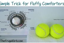 Get off the couch and clean.  / Cleaning tips and tricks!
