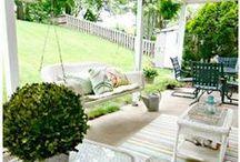 Decorating my Backyard / Beautiful backyard ideas and tips!
