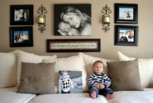Photo Wall Layouts and Ideas / by Little Miss Momma