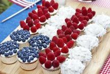 4th of July Party Ideas / Party ideas for the Fourth of July and Memorial Day - celebrate USA! / by Miss Mints