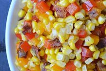 Corn, corn and corn!  / All things corn! My absolute fav!