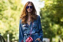 Street Style / Tendencias de moda, moda en la calle.