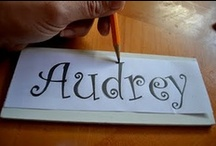 doodles borders & letters / by Angel E