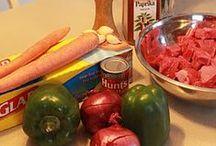 Recipes - Slow Cooker (Dinner)