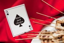 Game Night Party Ideas / Fun ideas for poker & casino themed parties - perfect for any gambling enthusiast! / by Miss Mints