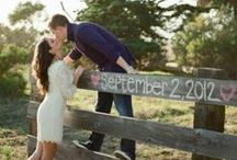 Engagement Photo Ideas / Documenting the most happiest days of with the love of your life! Get inspired with these beautiful couples! / by Miss Mints