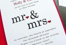 Wedding Invitation Inspiration / by Miss Mints