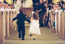 Wedding Flower girls/ Ring bearers / Cutie flower girls and ring bearers ideas
