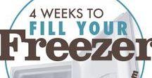 Rezepte - Freezer Meals / Hier sammle ich Rezepte die gut eingefroren werden können.