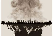 Pollution in Art / Air pollution not only affects the planet we live on, it affects our personal health. To describe what pollution means to them, artists have rendered their interpretation of pollution in art.