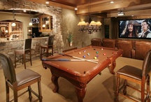 Home - Bar/Man Cave / by Heather Williams