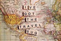 Travel bug / Oh the places I will go...one day... / by Kathleen Waterhouse