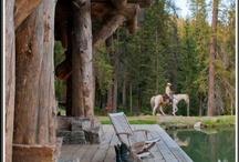 C a b i n . L i v i n g / My cabin has evolved it is more like a mountain resort.  / by Anita B.