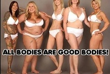 """Body Image / Beautiful people come in all shapes and sizes. This board is all about celebrating those who do not meet the """"traditional"""" standards of beauty, and helping people to see the beauty within themselves. / by Corianne Wilson"""