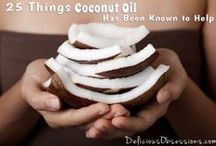 Coconut Oil Health Benefits / Learn about the goodness of coconut oil, how to use it, recipes and more!