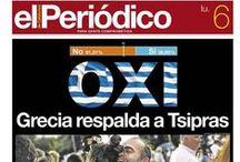El Periódico de Catalunya en Portadas / La actualidad del día en portadas