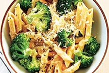 Pasta, casseroles, veggie main dishes / Main dishes sans meat / by Teresa Solwold
