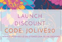 Jan Olive Designs / Patterns for interior design and fashion