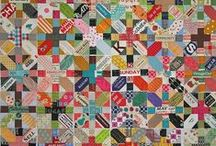 Quilts / all kind of inspirations for making quilts / by Zen Chic, modern quilts by Brigitte Heitland