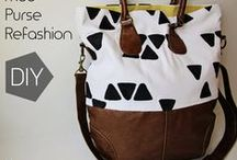 Bags / DIY bags to sew / by Zen Chic, modern quilts by Brigitte Heitland