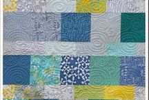Quilts from Layer Cakes / Quilts and quilt patterns using a Layer Cake fabric assortment / by Zen Chic, modern quilts by Brigitte Heitland