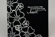 A Black & White Cards / by Beverley Berthold