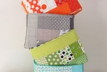sewing organization / how to get your sewing room or studio in good shape and find an organized place for everything / by Zen Chic, modern quilts by Brigitte Heitland