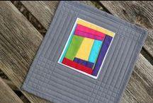 Mug Rug / by Zen Chic, modern quilts by Brigitte Heitland