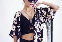 K-K-Kimonos! / Kimonos in abundance!