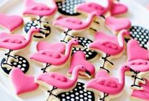 Flamingo Birthday Party / Inspiration for a flamingo themed birthday party or baby shower