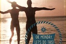 OK Monday! Let's Do This! / Kick those NEGATIVE FEELINGS about MONDAY to the curb! Join the Town of Palm Beach United Way's OK MONDAY, LET'S DO THIS Campaign to add purpose and excitement to your week. #OKMonday #LetsDoThis #MotivationMonday #LiveUnited