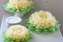 The princess and the frog birthday party / Inspiration in green and gold for a perfect princess and the frog birthday party