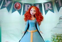 Merida Brave Birthday Party