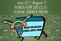 2016 Boxed for Success School Supply Drive / These two shoeboxes for the Boxed for Success School Supply Drive were dropped off yesterday! Learn how to donate to the drive and enter our shoebox decorating contest: http://www.palmbeachunitedway.org/2016-boxed-success