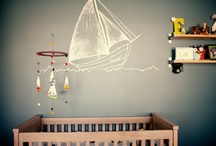 Nursery Decor / #Decorating ideas for a baby's room.