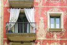 Barcelona: Doors and windows / Mi querida ciudad natal / by Beatriz Poncet